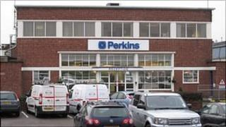 Offices of Perkins Engines in Stafford