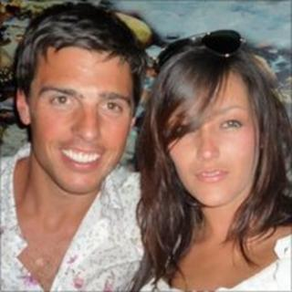 James Whalley and his girlfriend Holly Hill