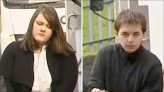 Ashleigh Robinson and Gordon Harding