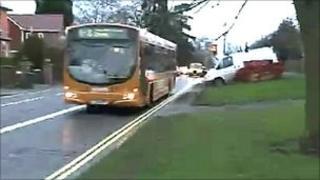 Duffield Road bus lane