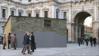 Merz Barn installation at the Royal Academy
