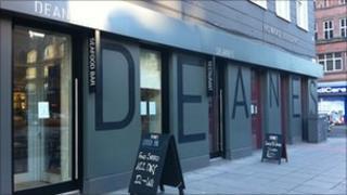 Michael Deane's restaurant in Howard Street lost its Michelin star status