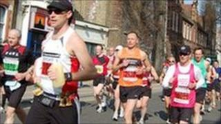 Runners in last year's Brighton Marathon