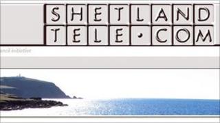 Shetland Telecom website