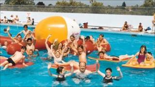 Brightlingsea outdoor pool