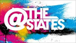 At The States logo
