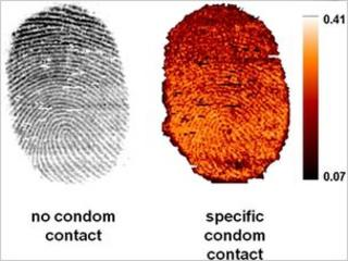 Fingerprint comparison image