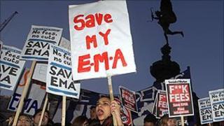 EMA protesters