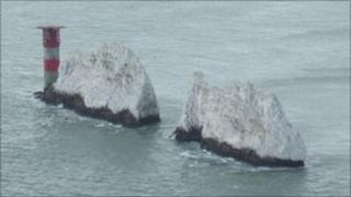 The Needles off the Isle of Wight