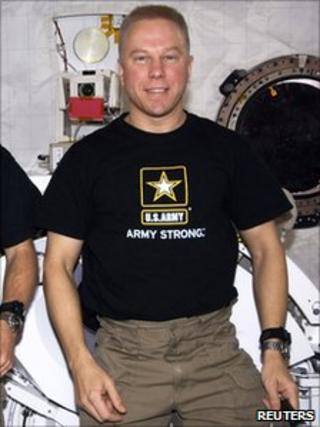 2009 file picture of Nasa astronaut Tim Kopra
