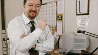 Ricky Gervais as David Brent
