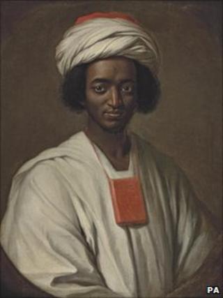 William Hoare's painting of Ayuba Suleiman Diallo