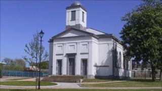 The Garrison Chapel at Pembroke Dock