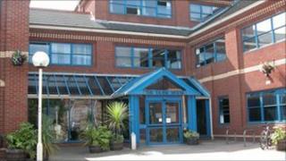 Taunton Deane Borough Council office