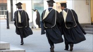 Graduates LSE (file pic)
