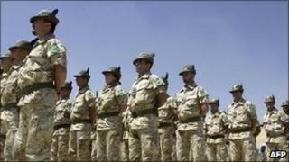 Italian troops in Afghanistan, file pic