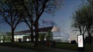 An impression of the new Guildford Civic