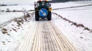 De-icer trial in Aberdeenshire