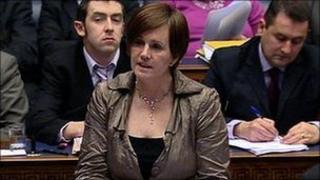 Sinn Fein said the underspend was not due to Education Minister Caitriona Ruane