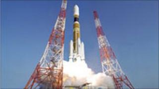 Lift-off at Tanegashima. Photo: Jaxa space agency