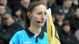 Assistant referee Sian Massey