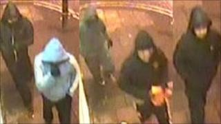 CCTV images of the Alankar Jewellers robbery suspects