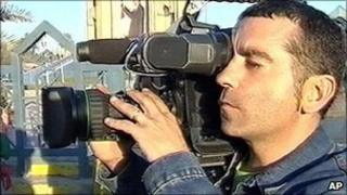 File image of Spanish cameraman Jose Couso, killed in Iraq in 2003