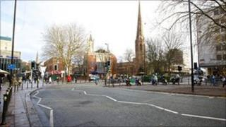 Bull Yard area - generic image (pic: Coventry City Council)
