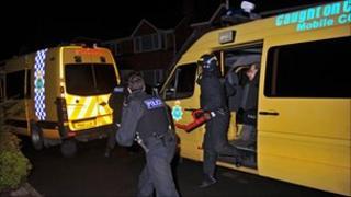 Merseyside Police raid