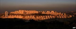Har Homa in east Jerusalem, file image