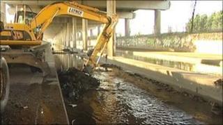 River Tame work