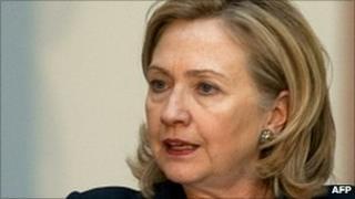 Hillary Clinton in Mexico, 24 January 2011