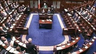 The Dail (Irish parliament)