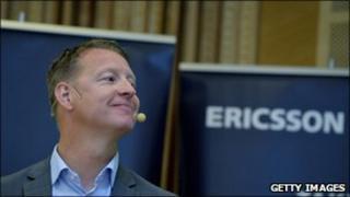 Ericsson Chief Executive Hans Vestberg