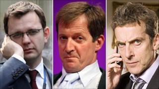 Andy Coulson, Alastair Campbell and fictional Malcolm Tucker