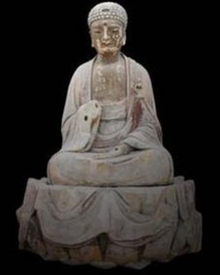 Sakyamuni Buddha, Xiaofowan, Baodingshan, Dazu, Southern Song dynasty (AD1174-1252).