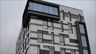 The James Hehir Building, UCS in Ipswich