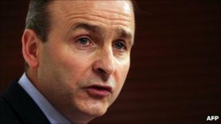 Irish ex-Foreign Minister Micheal Martin, file image