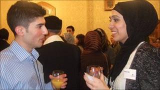 Jewish student Mark Robins and Muslim student Aliya Din