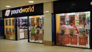 Poundworld in Blackburn