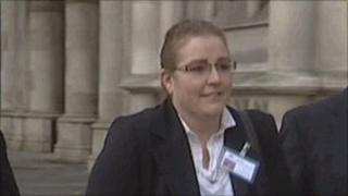 Janet Stockley-Pollard outside the court in 2011