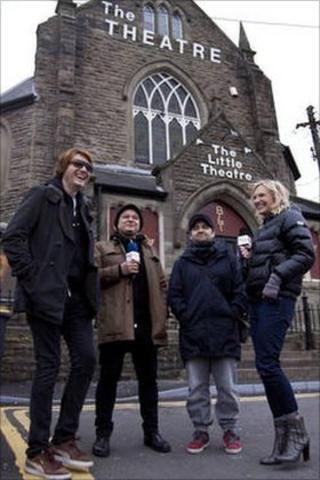 The Manics and Jo Whiley