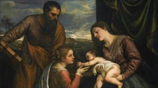 Titian's A Sacra Conversazione