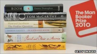 Booker prize shortlist