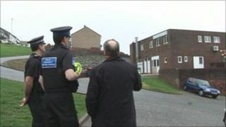 Police in Kingsway area