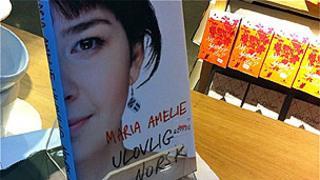 Madina Salamova's book on sale in Norway