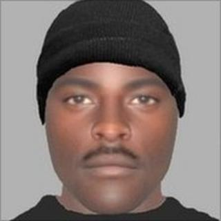 E-fit of suspect - image courtesy Gloucestershire Constabulary