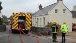 Guernsey oil tank fire
