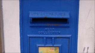 Guernsey post box