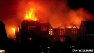 Fortfield Hotel fire, January 2011
